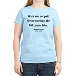 Benjamin Franklin 23 Women's Light T-Shirt
