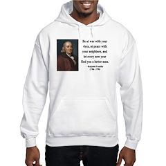Benjamin Franklin 24 Hoodie