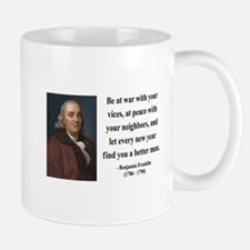 Benjamin Franklin 24 Mug
