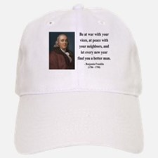 Benjamin Franklin 24 Baseball Baseball Cap