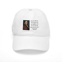 Benjamin Franklin 24 Baseball Cap