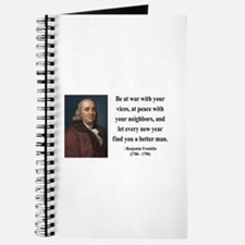 Benjamin Franklin 24 Journal
