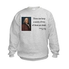 Benjamin Franklin 25 Sweatshirt