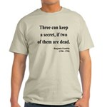 Benjamin Franklin 25 Light T-Shirt