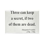 Benjamin Franklin 25 Rectangle Magnet (10 pack)