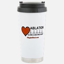 Ablation Slows Beating Heart Travel Mug