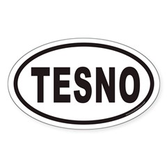 TESNO Euro Oval Decal
