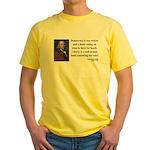 Benjamin Franklin 2 Yellow T-Shirt