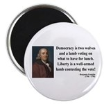 Benjamin Franklin 2 Magnet