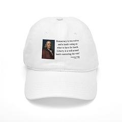 Benjamin Franklin 2 Baseball Cap