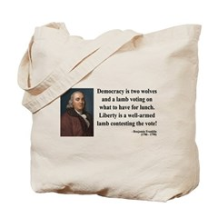 Benjamin Franklin 2 Tote Bag