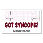 Got Syncope? 2 Rectangle Sticker 50 pk)