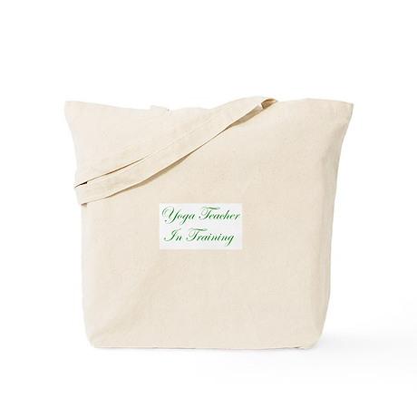Yoga Teacher iN Training Tote Bag