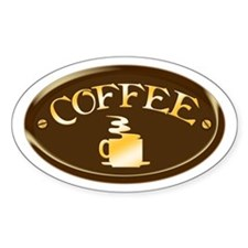 Coffee Plaque Decal