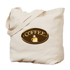 Coffee Plaque Tote Bag