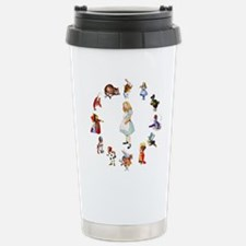 WONDERLAND CIRCLE Stainless Steel Travel Mug
