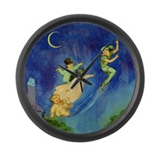 PETER PAN Large Wall Clock