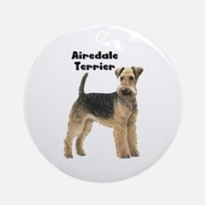 Airedale Terrier Ornament (Round)