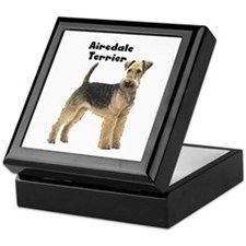 Airedale Terrier Keepsake Box