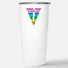SUPER GAY RAINBOW Travel Mug
