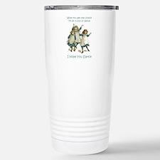 I HOPE YOU DANCE Stainless Steel Travel Mug