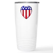 MY AMERICAN HEART Travel Coffee Mug