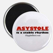 """Asystole 2.25"""" Magnet (100 pack)"""