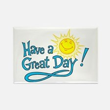 Have a Great Day Rectangle Magnet (10 pack)