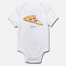 Kawaii Pepperoni Pizza Slice Infant Bodysuit