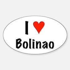 I love Bolinao Oval Decal