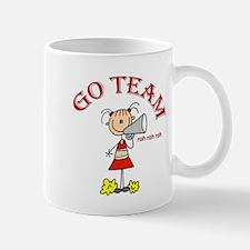 Go Team Cheerleading Small Small Mug