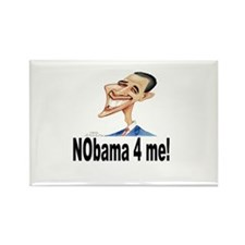 NObama 4 me! Rectangle Magnet (100 pack)