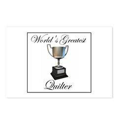 World's Greatest Quilter Postcards (Package of 8)