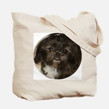 Black Shih Tzu Tote Bag