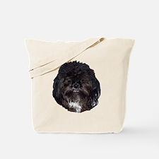 Black Shih Tzu Tote Bag