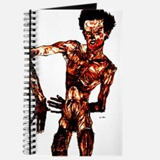 Egon Schiele Self-Portrait Journal