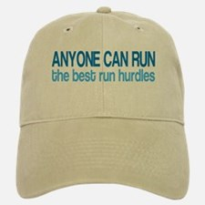 The Best Run Hurdles Baseball Baseball Cap
