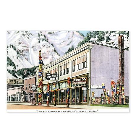 JUNEAU ALASKA NUGGET SHOP Postcards (Package of 8)
