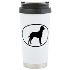 Curly SILHOUETTE Travel Mug