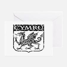 CYMRU Wales Greeting Cards (Pk of 10)