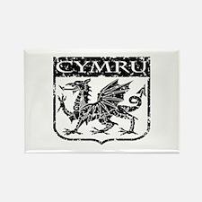 CYMRU Wales Rectangle Magnet