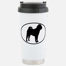 Chinese Shar-Pei SILHOUETTE Stainless Steel Travel