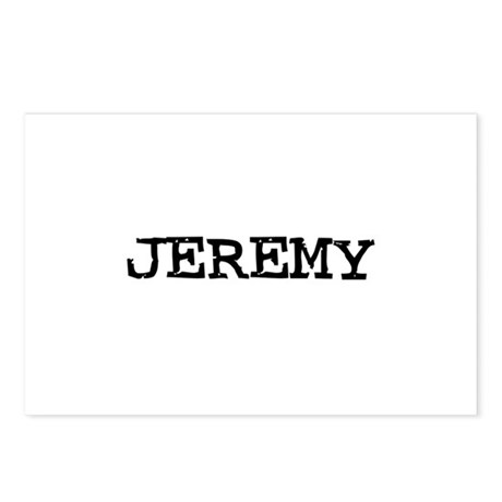 Jeremy Postcards (Package of 8)