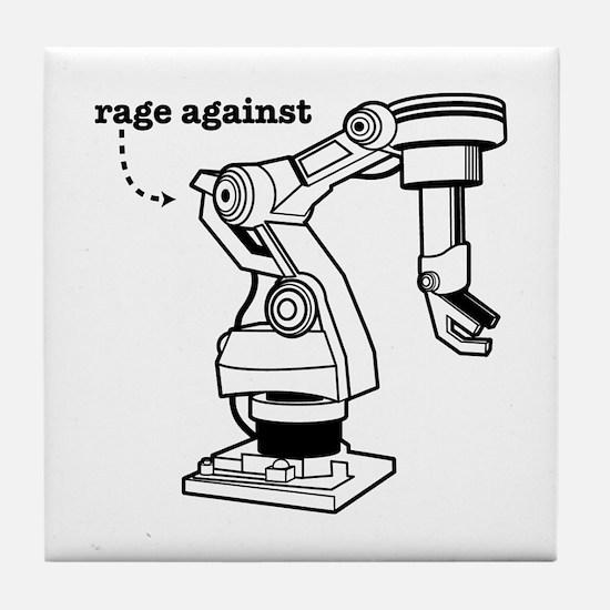 Rage Against Tile Coaster
