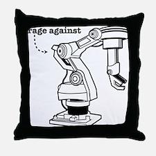 Rage Against Throw Pillow