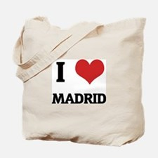 I Love Madrid Tote Bag