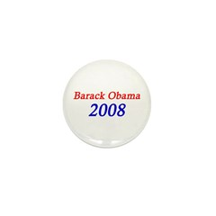 Barack Obama 2008 Mini Button (100 pack)