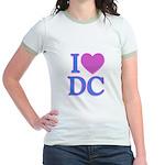 I Love DC Jr. Ringer T-Shirt