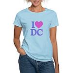 I Love DC Women's Light T-Shirt