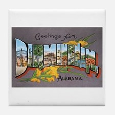 Birmingham Alabama Tile Coaster